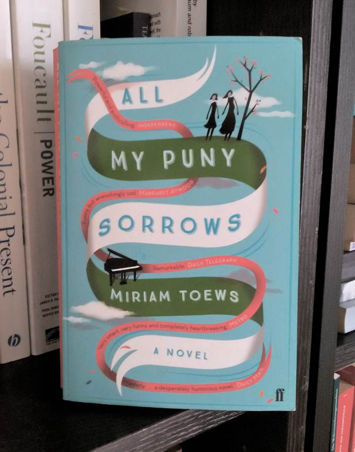 "Reading: Miriam Toews ""All my puny sorrows"""