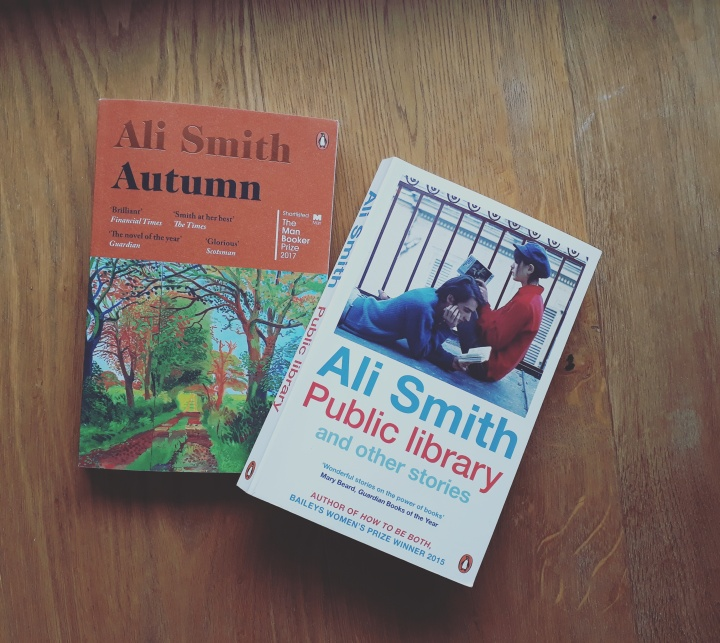 "Reading: ""Autumn"" by Ali Smith"
