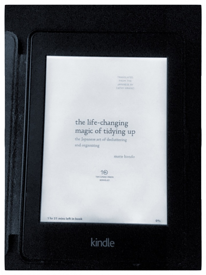 """Reading Marie Kondo and so much more … """"The life-changing magic of tidyingup"""""""