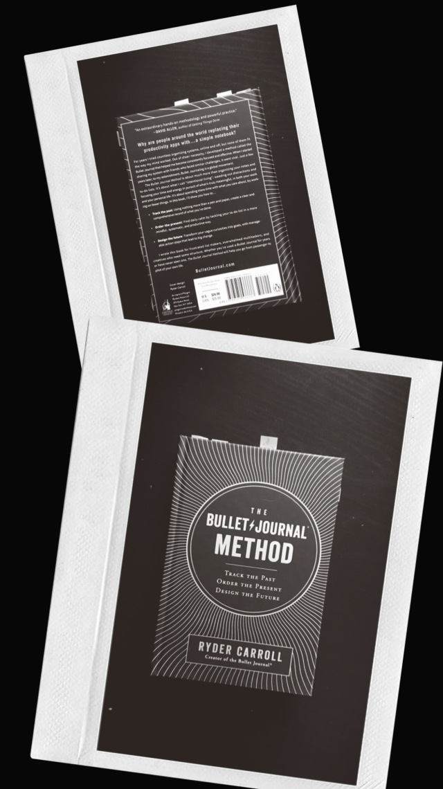 The bullet journal method book ryder carroll