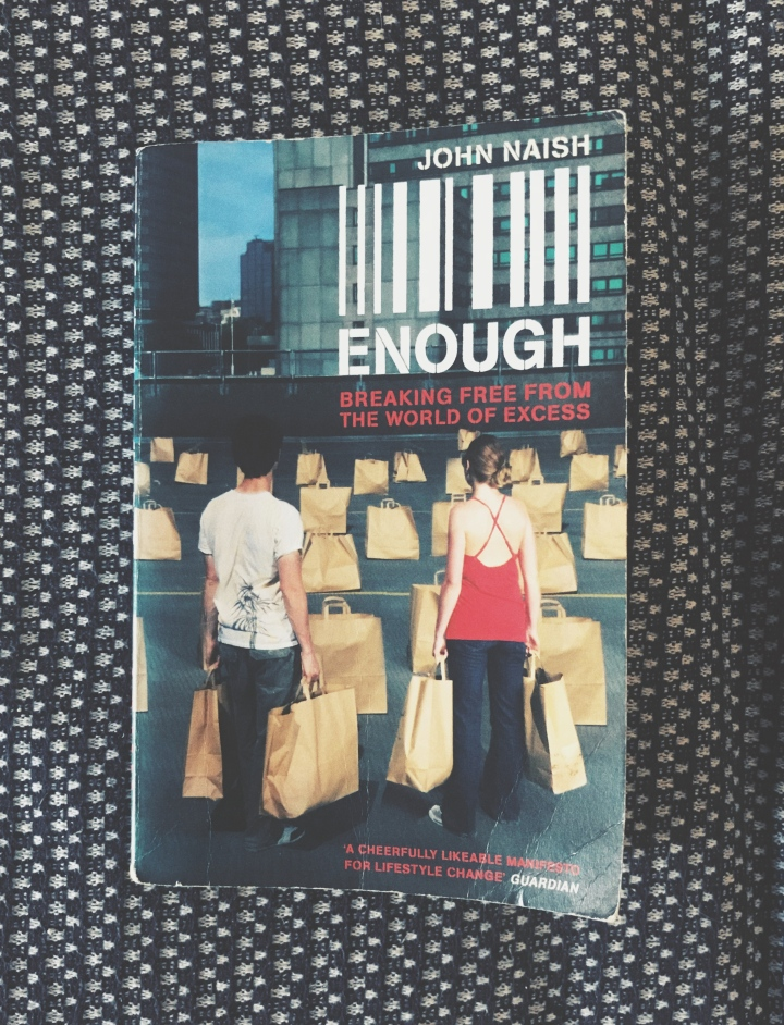 "Reading: ""Enough"" by John Naish"
