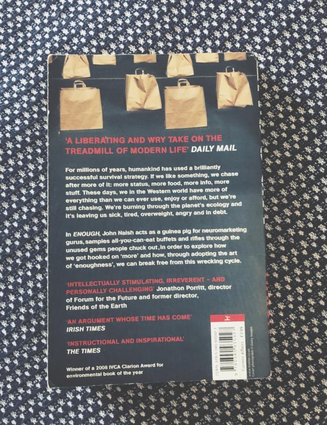 John Naish Enough book cover 2