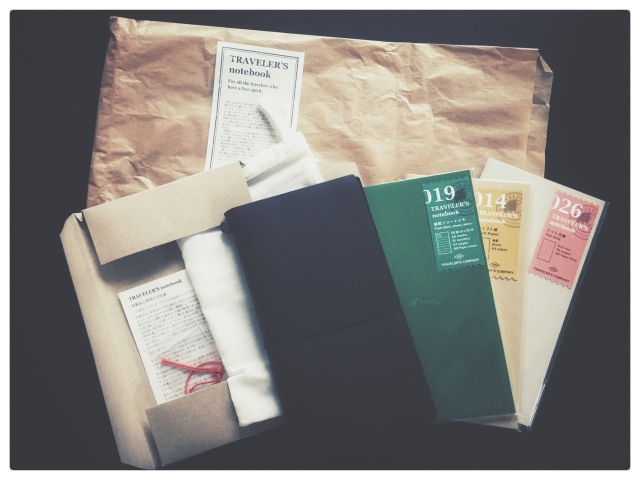 Midori Traveler's notebook unboxed