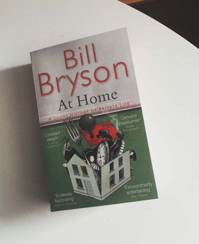 Book Bill Bryson 'At Home'
