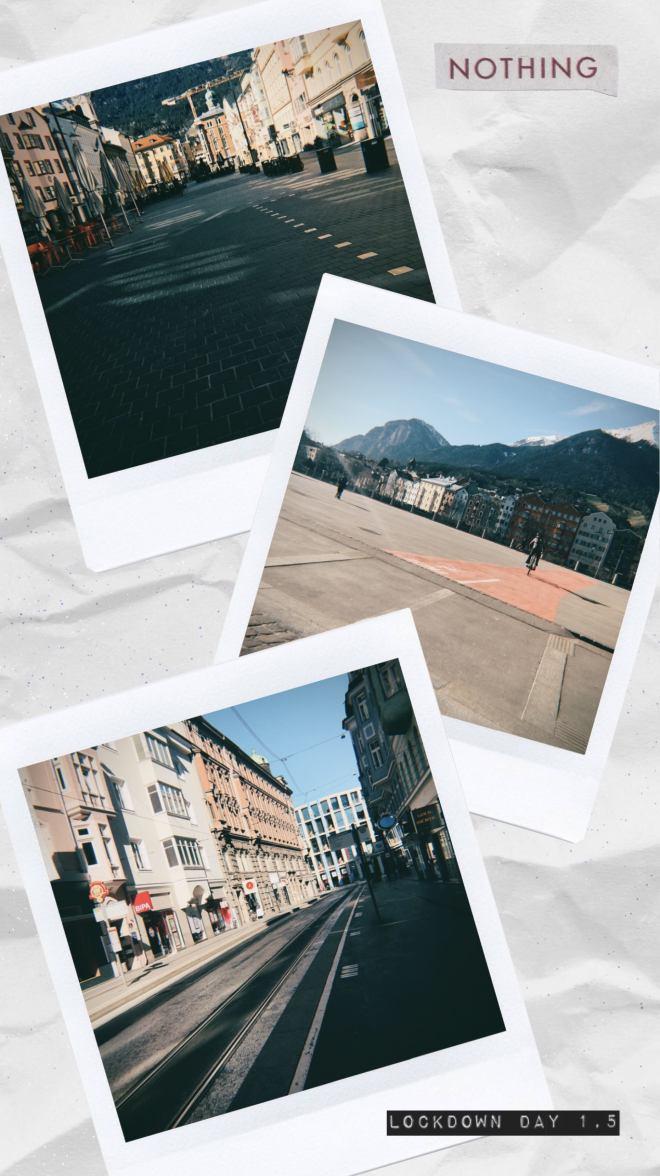 collage city under lockdown corona 2020