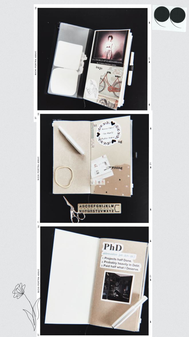 collage 3 notebook covers