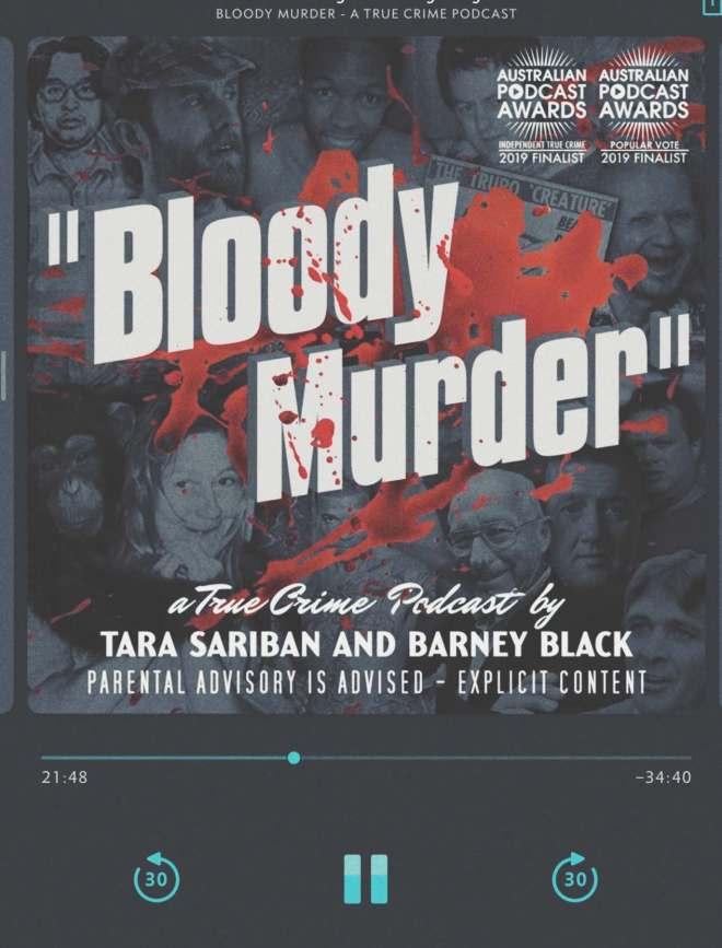 screenshot bloody murder podcast am player