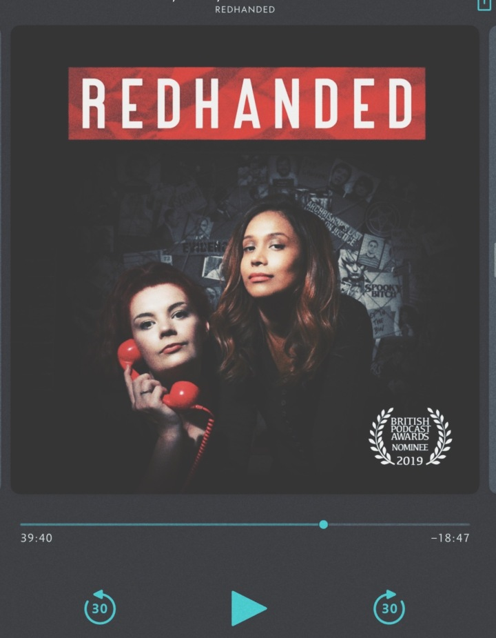 RedHanded Podcast played on Overcast app