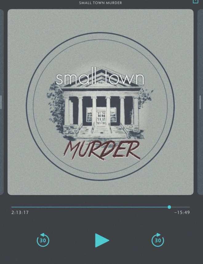 screenshot small town murder podcast am player