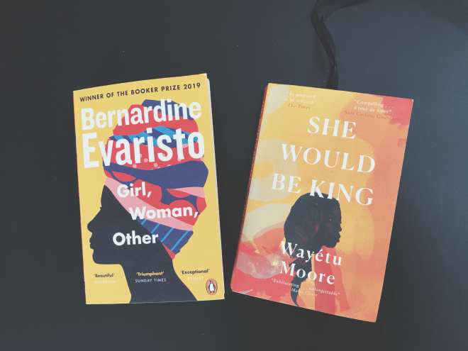 Two bookcovers