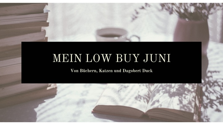 Ein Sommer voller 'weniger' – mein Low Buy JuniUpdate