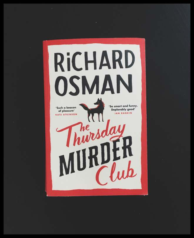 front cover of Richard Osman's book The thursday murder club